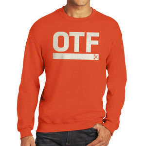 Orange Theory Orange crewneck Sweatshirt